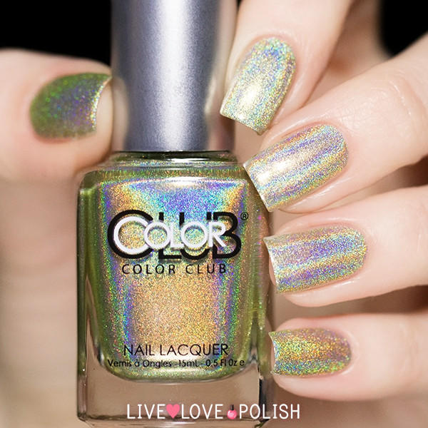 Who Sells Color Club Nail Polish: Color Club Kismet Nail Polish (Halo Hues From Live Love Polish
