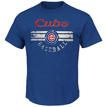 Chicago Cubs Youth Baseball Shirt by Stitches Select Youth Size: Large - 14/16