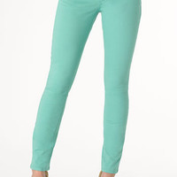Indigo Rein Colored Skinny Pant at Alloy