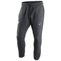 Texas Longhorns Nike Hybrid Fleece Cuffed Jogger Pants - Heather Gray