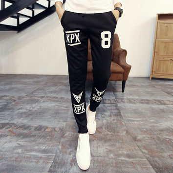 Autumn Print Casual Pants [6539648451]