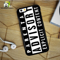 Parental Advisory iPhone 6 Plus Case by Avallen
