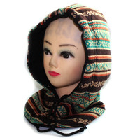 Autumn and winter heat preservation Cap complex splicing motion snow hats
