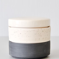 Ben Fiess Stacking Vessel - Black