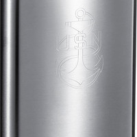Visol US Navy Stainless Steel Flask - 8 oz