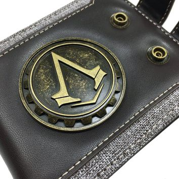 Mens Retro Wallets-Vintage Bifold Wallet with ID Window,Slim Compact Wallet PU Leather