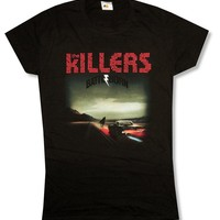 "Bravado Juniors The Killers ""Album Cover Tour 2012"" Black T-Shirt (Small)"