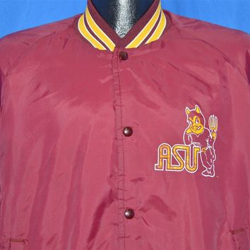 80s Arizona State University Sun Devils Jacket Extra Large