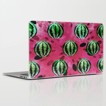 Watermelon Explosion Laptop & iPad Skin by SensualPatterns