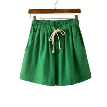 Summer Women's Fashion Sweets Pants Casual Shorts [4918908804]