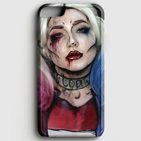 Harley Quinn Art iPhone 8 Case
