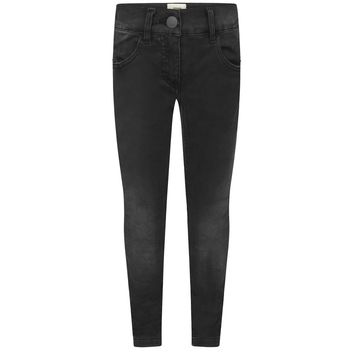 Fendi Girls Black Denim Jeans