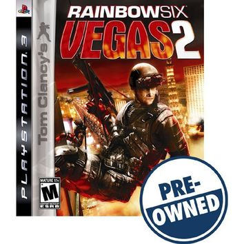 Tom Clancy's Rainbow Six: Vegas 2 — PRE-OWNED - PlayStation 3