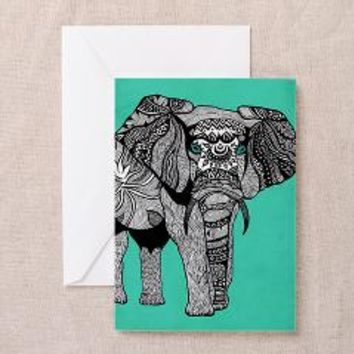 Elephant Of Namibia Greeting Cards (Pk Of 10) Gree> Pom Graphic Design
