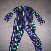 Adult Footsie Footie Footed pajamas by LoveMamma on Etsy