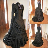 Victorian Corset Gothic/Civil War Southern Belle Ball Gown Dress Halloween dresses US 4-16 R-452 Alternative Measures - Brides & Bridesmaids - Wedding, Bridal, Prom, Formal Gown