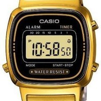 Casio Ladies Bracelet Digital Watch La670Wega-1Ef:Amazon:Watches