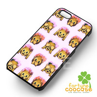 moji Monkey Floral Hipster-1nyy for iPhone 4/4S/5/5S/5C/6/ 6+,samsung S3/S4/S5,S6 Regular,S6 edge,samsung note 3/4