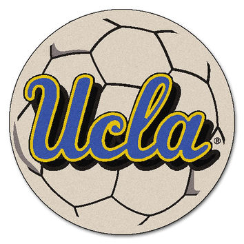 UCLA Bruins NCAA Soccer Ball Round Floor Mat (29)