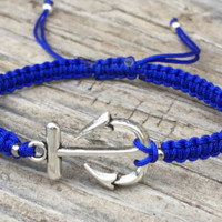 Puzzle Piece Bracelet , Adjustable Cord Macrame Friendship Bracelet