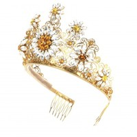 Crystal-embellished tiara