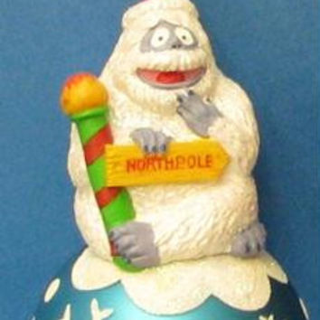 "Christmas Ornament - Bumble Snowman From  "" Rudolph """