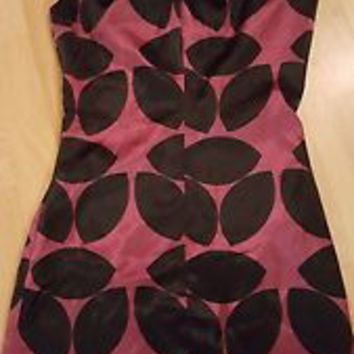 ADELE FADO Size 40 Euro US 4 6 silky dress Dress EUC Made in Italy