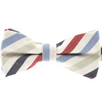 Tok Tok Designs Pre-Tied Bow Tie for Men & Teenagers (B395, 100% Cotton)