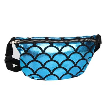 Mermaid waist bag