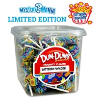 Buy Single Flavor Tub of Buttered Popcorn Dum Dums