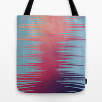 ABSTRACT SURF SUNSET Tote Bag by Nika