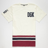 Dgk From Nothing Mens T-Shirt White  In Sizes