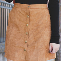 Autumn Solstice Skirt - Camel