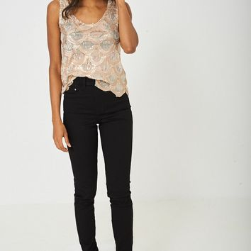 TALL Highwaist Skinny Jeans Ex-Branded