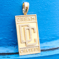 Dream Chasers Iced Out Pendant