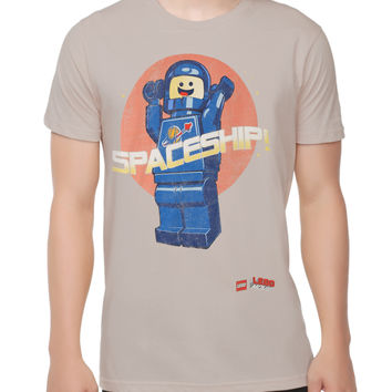 The LEGO Movie Benny Spaceship T-Shirt