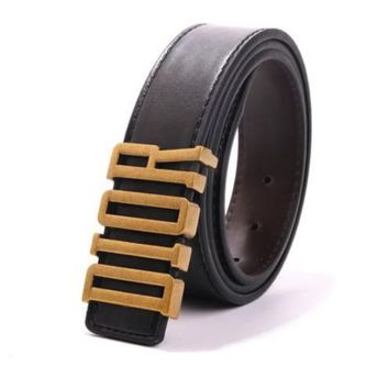 """""""Dior"""" Unisex Fashion Personality Classic Multicolor Metal Needle Buckle Belt"""