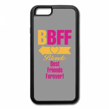 blonde best friend forever left arrow. iPhone 7 Plus Case