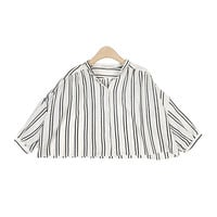 Chic Stripe Crop T-Shirt