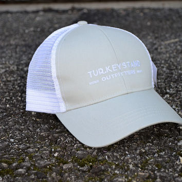 Turkeystand Outfitters: Trucker Hat Grey