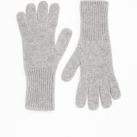 Cashmere Gloves - Grey - Gloves - & Other Stories GB