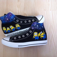 Galaxy Minion Shoes - BlingLogo