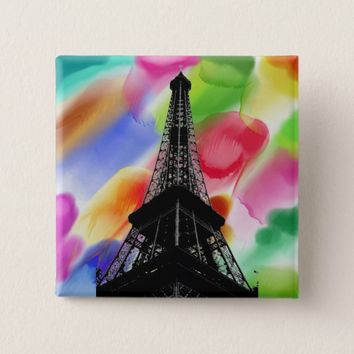 Eiffel Tower Button