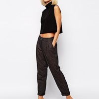 River Island High Waist Peg Pant
