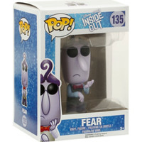 Funko Disney Pop! Inside Out Fear Vinyl Figure