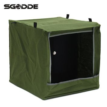Hot Sale 40x40x40cm Foldable Cloth Slingshot Target Box Recycle Archery Ammo Hunting Catapult Case Holder Hunt Accessories