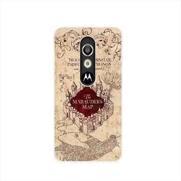 09286 Marauders Map Harry Potter cell phone case For Motorola Moto G3 G 3rd Gen 2015 XT1541 XT1542 XT1543