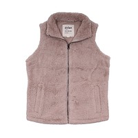 Polar Fleece Shelly Vest in Sand by True Grit (Dylan) - FINAL SALE