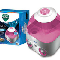 Vicks Starry Night Cool Moisture Humidifier (Pink)