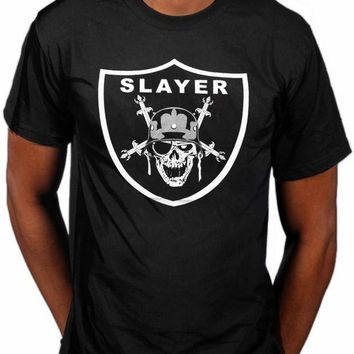DCCKV2S Official Slayer Slayders T-Shirt Nuclear Sandstrahl Implodieren Diabolus Men'S High Quality Custom Printed Tops Hipster T Shirt
